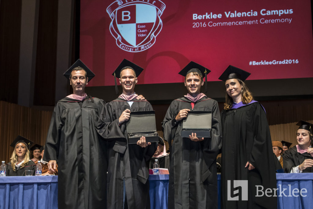 Berklee Peer Recognition Award