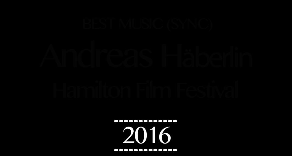 Hamilton Film Festival Laurels